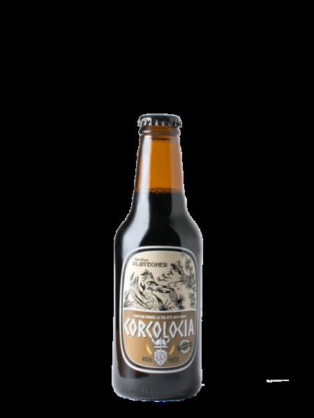 Birra artigianale Corcolocia, bottiglia da 25 cl
