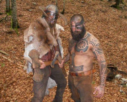 Loki e Thor - Guerrieri vichinghi - Berserker