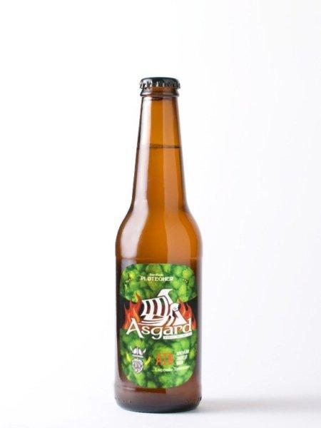 Birra artigianale Asgard trentina, bottiglia da 33 cl