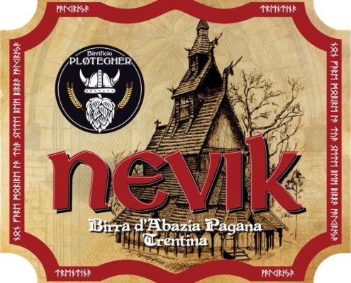 In anteprima, ecco l'etichetta della nuova birra Nevik! - fronte